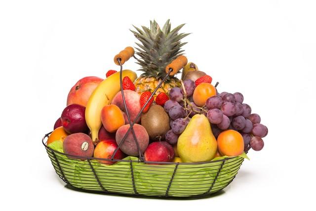 Corbeilles de fruits frais