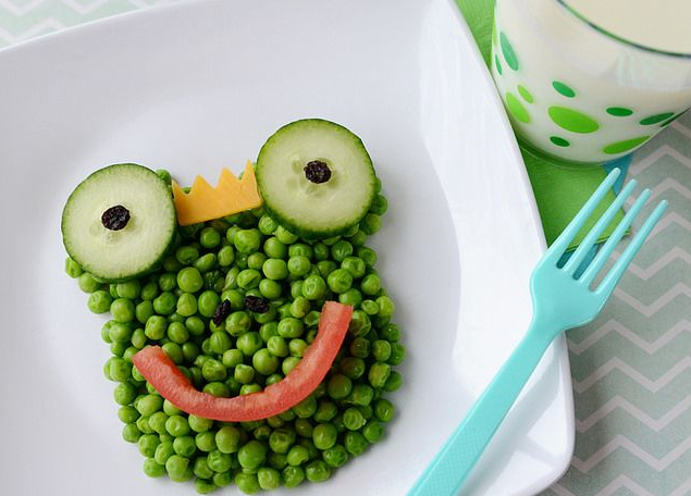 Leur faire manger des légumes : un jeu d'enfant !