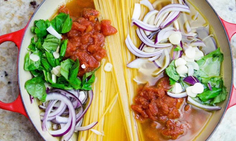 One-pot pasta : le repas dans une seule casserole