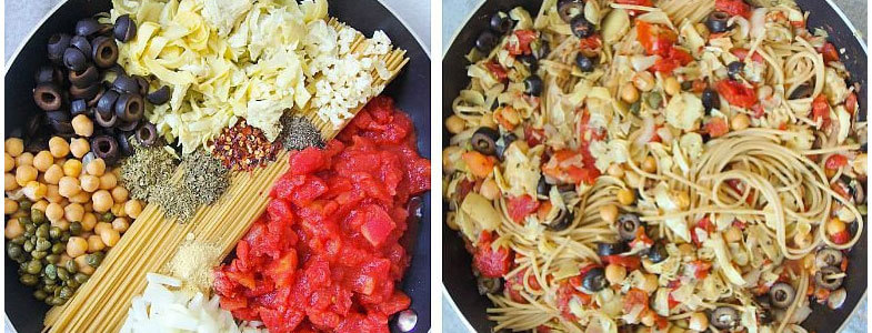 one pot pasta italie