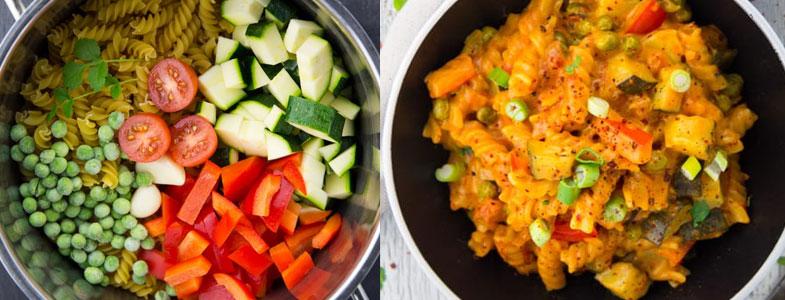 one pot pasta crémeux asiatique