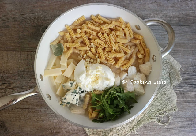 one pot pasta 4 fromages