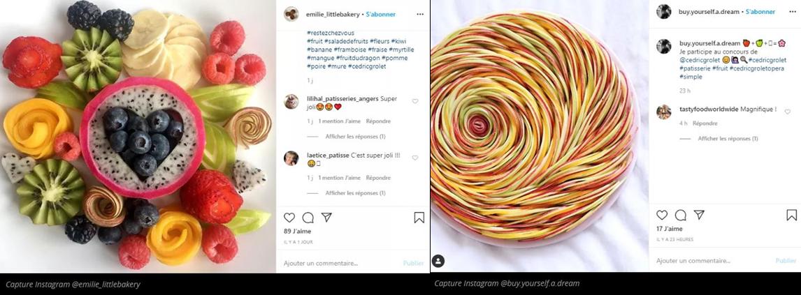 salade de fruits Instagram