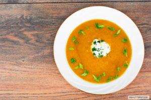Soupe panais légumes racines
